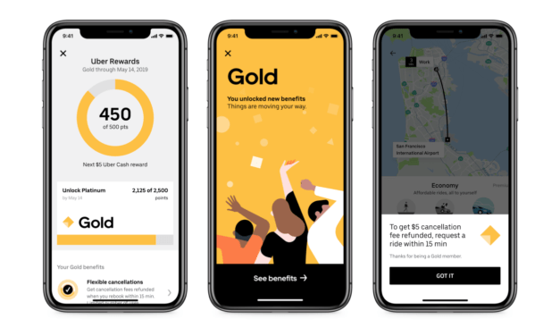 Uber lance son Programme de fidélité : Uber Rewards