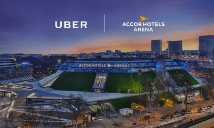 Uber officialise un partenariat avec l'AccorHotels Arena