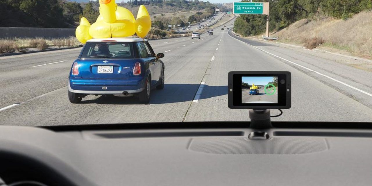 "La Dashcam connectée ""Car Cam"" de Owl"