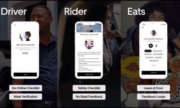 Évolution et changements de l'application uber face au covid-19